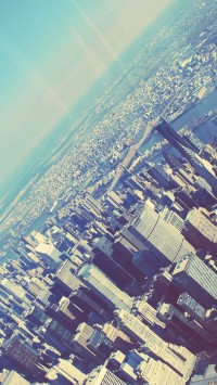 Manhattan From The Plane