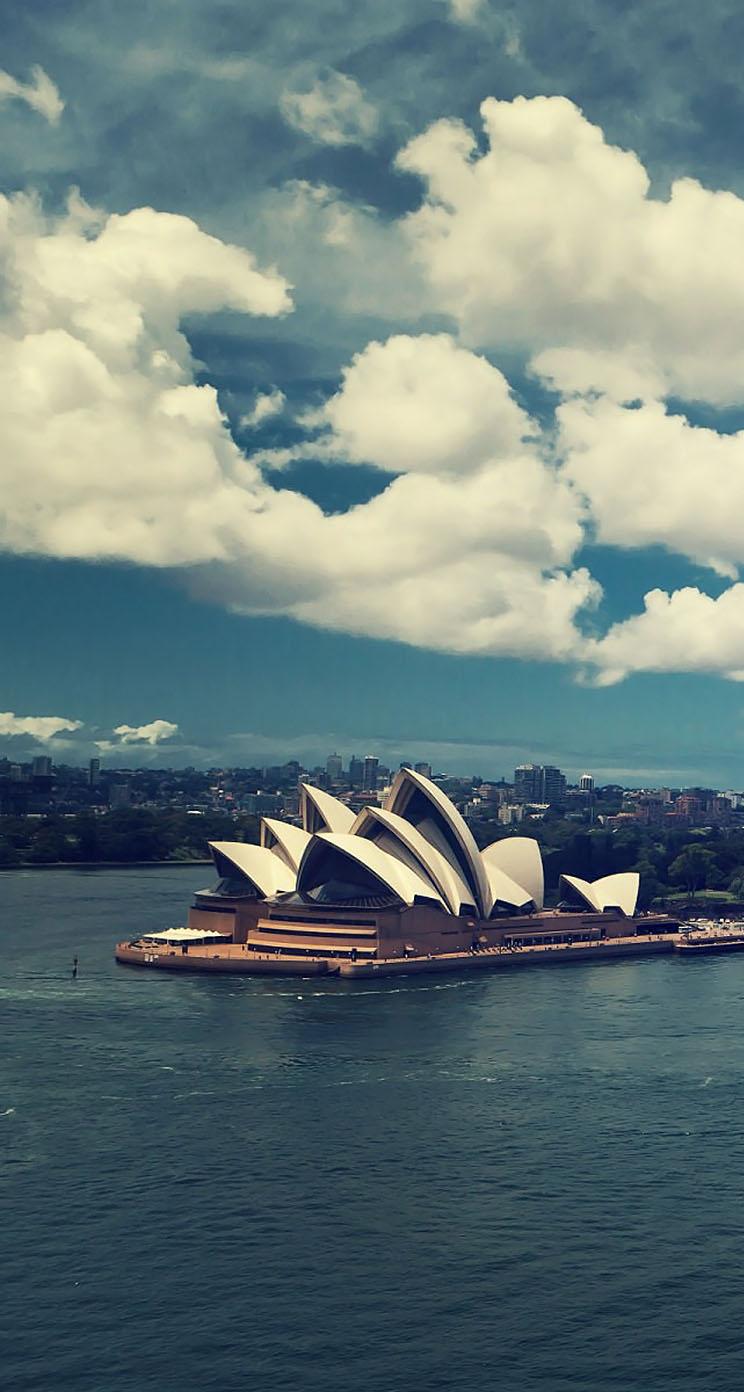 sydney australia harbour - the iphone wallpapers