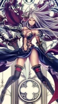 Anime long hair girls