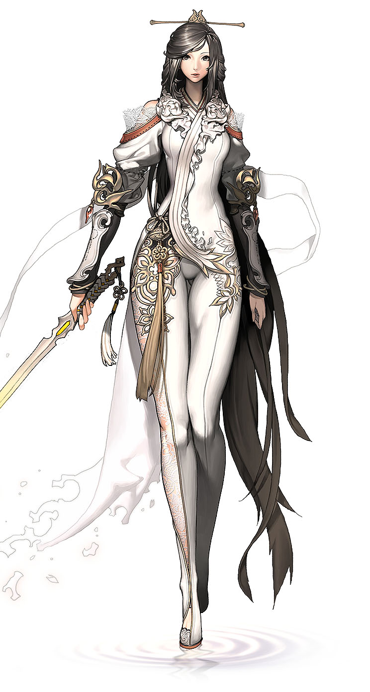Character Design Wallpaper : Blade and soul character design the iphone wallpapers