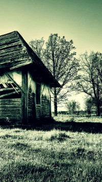 Broken old house
