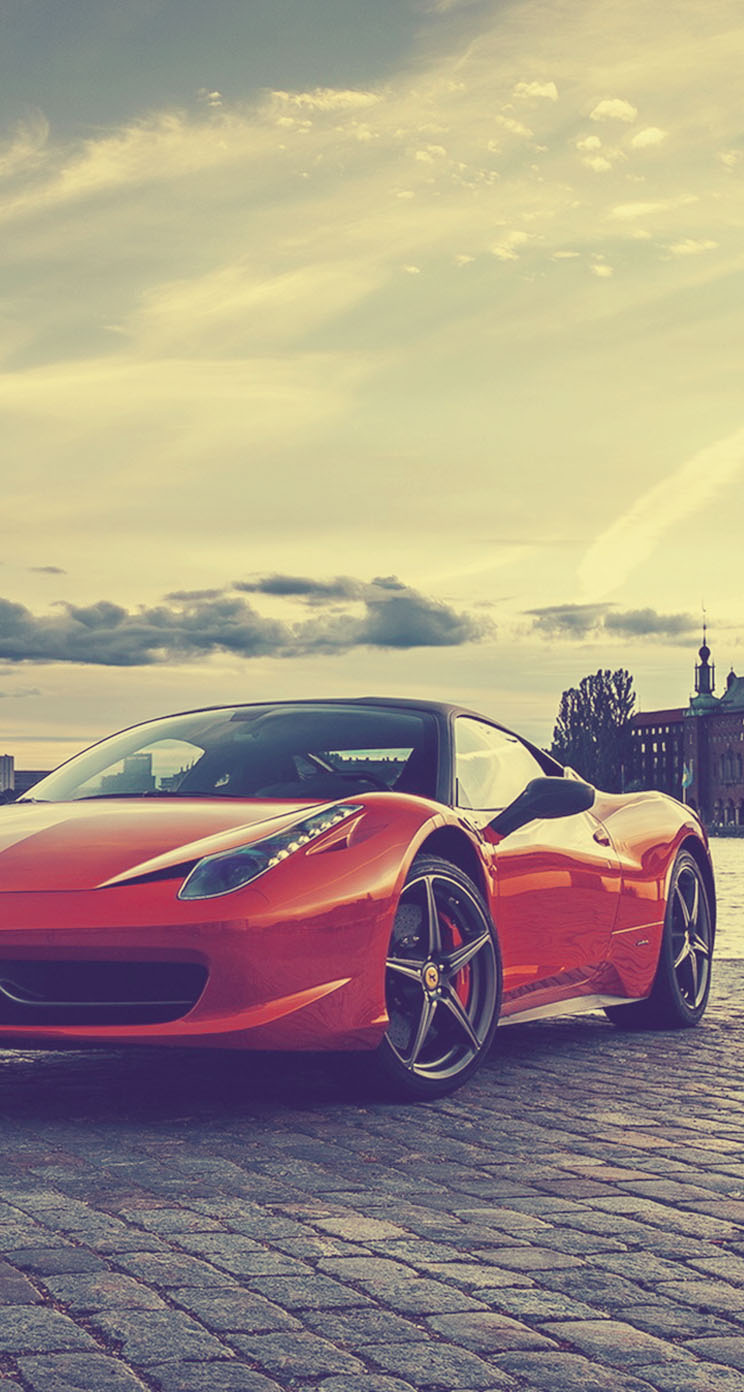 Ferrari 458 Italia 2013 - The iPhone Wallpapers