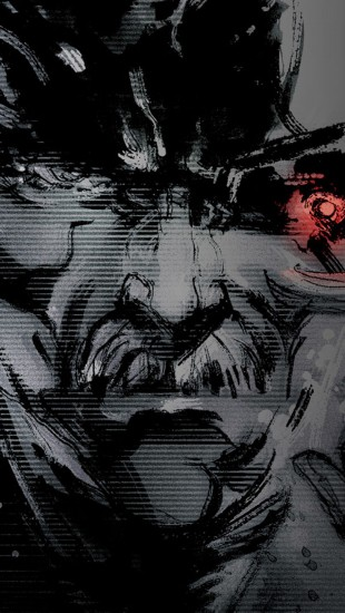 metal gear solid 4 the iphone wallpapers