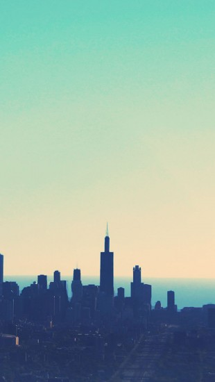 Sunrise cityscapes dawn chicago