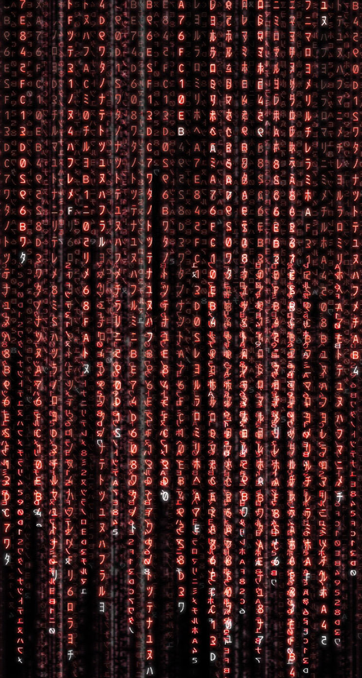 The Red Matrix - The iPhone Wallpapers