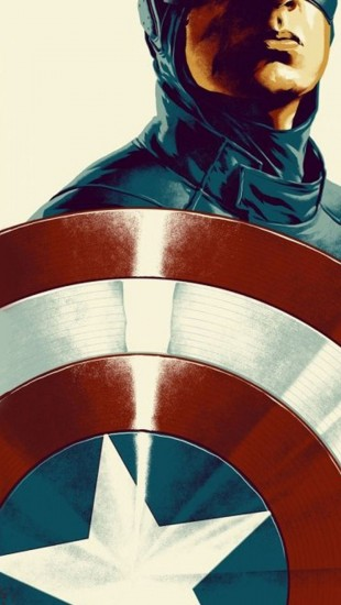 Capitain America Posters Illustration