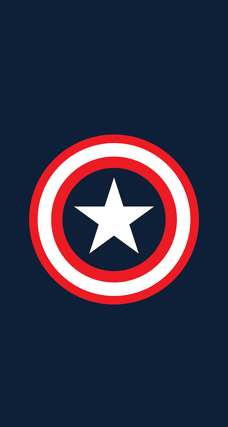 marvel universe captain america shield the iphone wallpapers
