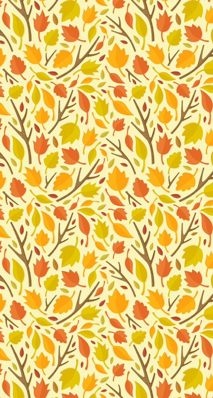 leaves wallpaper pattern - photo #21