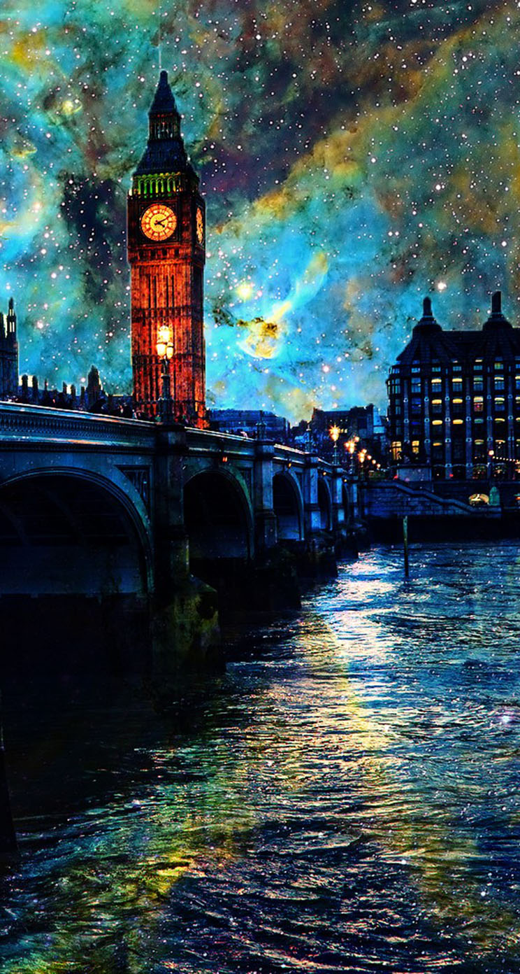 The Iphone Wallpapers Fantasy Night In London