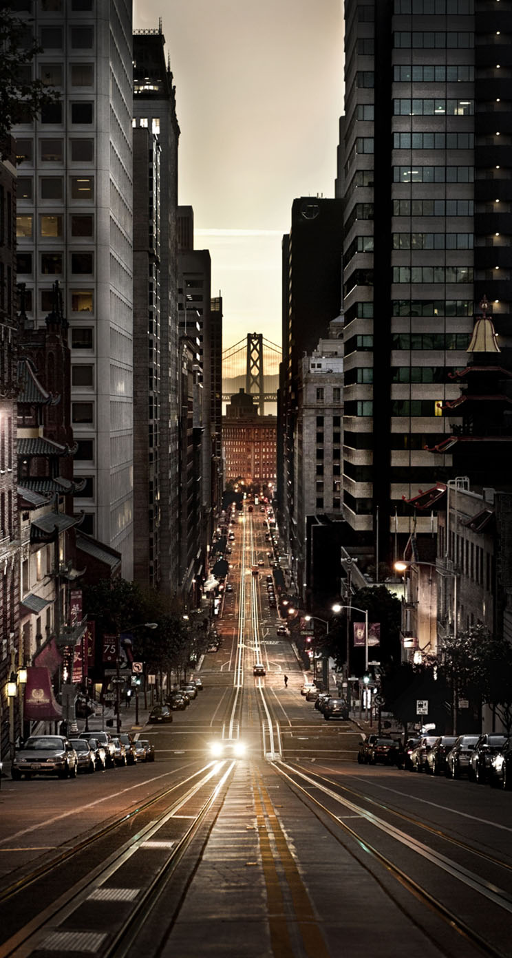 the essence of san francisco - the iphone wallpapers