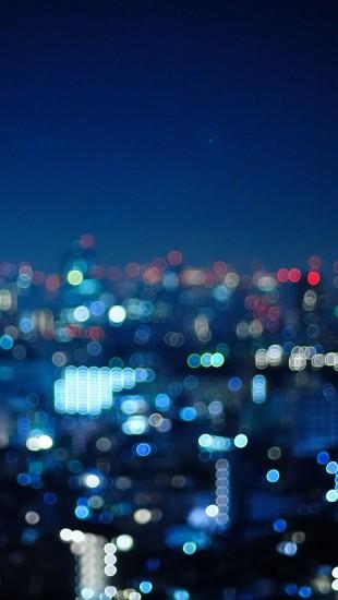 Tokyo Japan Bokeh City Night