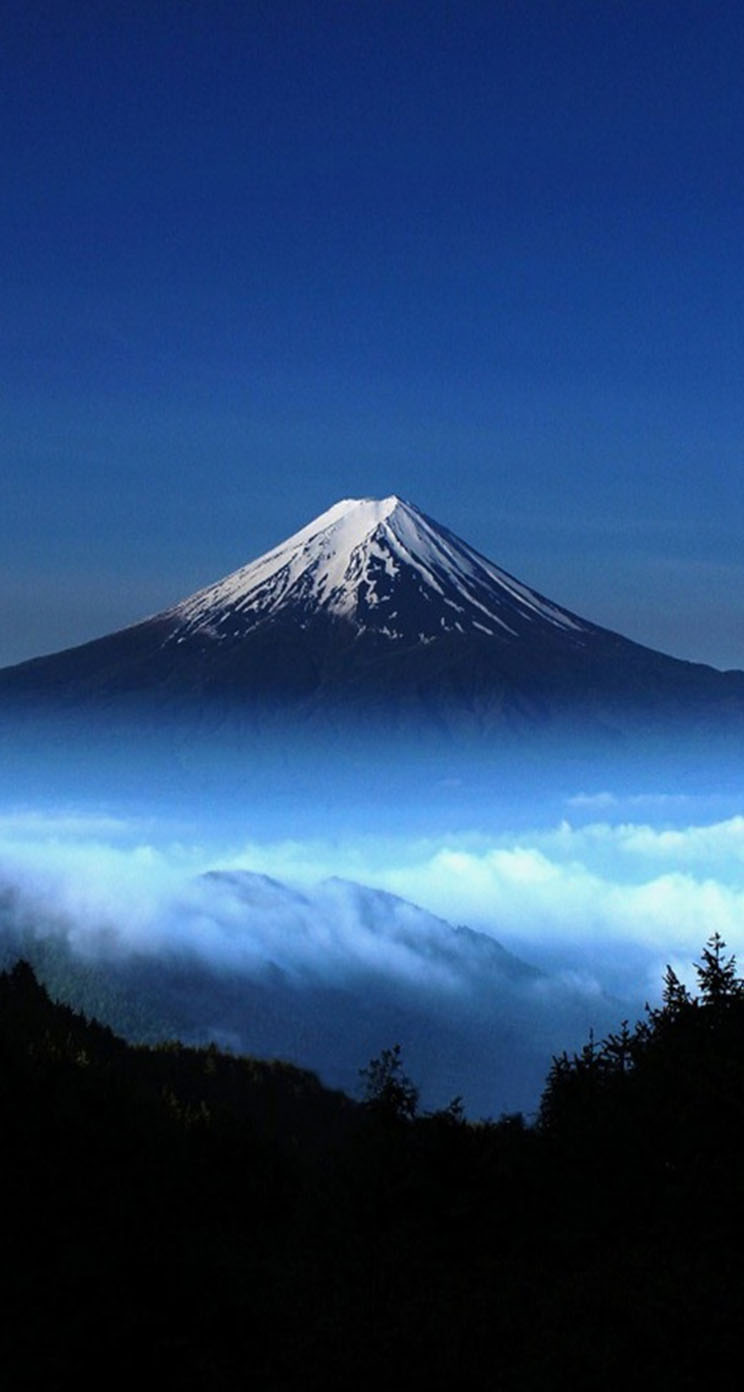 Mount Fuji Japan  city images : Mount Fuji Japan The iPhone Wallpapers