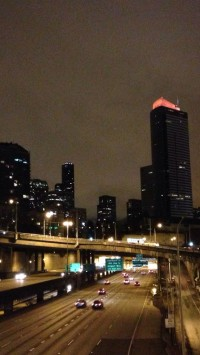 Seattle Night Highway