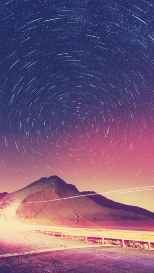 Starry sky Night