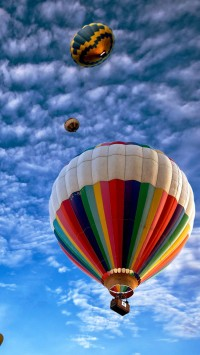 Hot Air Balloons Sky