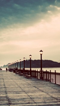 Photography Vintage lamp posts