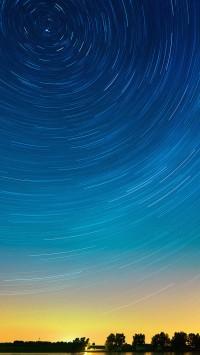 Star Gazing Night on Lake