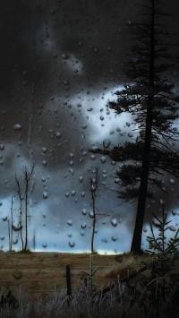Dark Sky Stormy wet