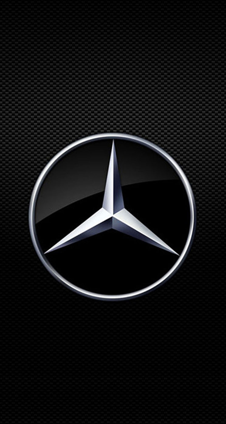 mercedes benz logo wallpaper for iphone