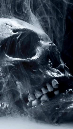 Skull Smoke Halloween