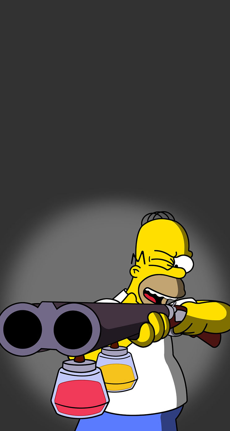 Homer Simpson The Iphone Wallpapers