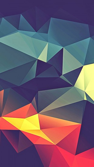 Colorful Polygonal Render