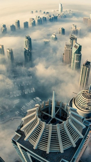 Dubai Cloud City Landscapes