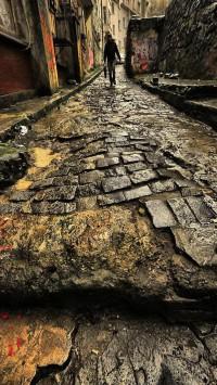 Rain Street in Old Town
