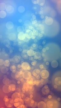 Happy Bokeh background