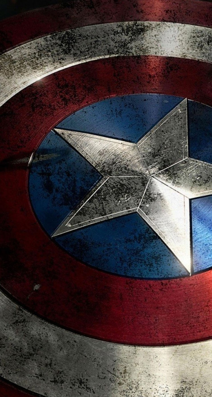 Captain america shield wallpaper