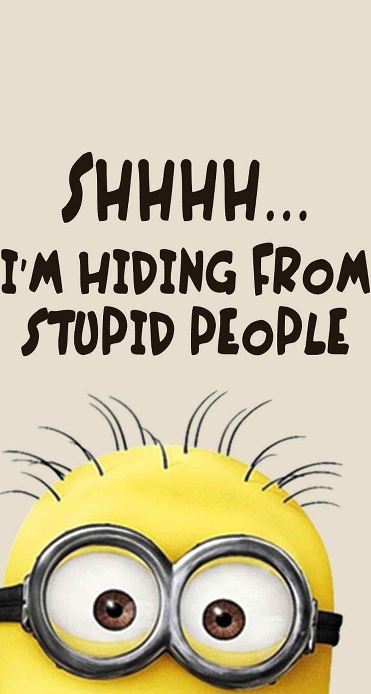 Quotes For Stupid People: The IPhone Wallpapers