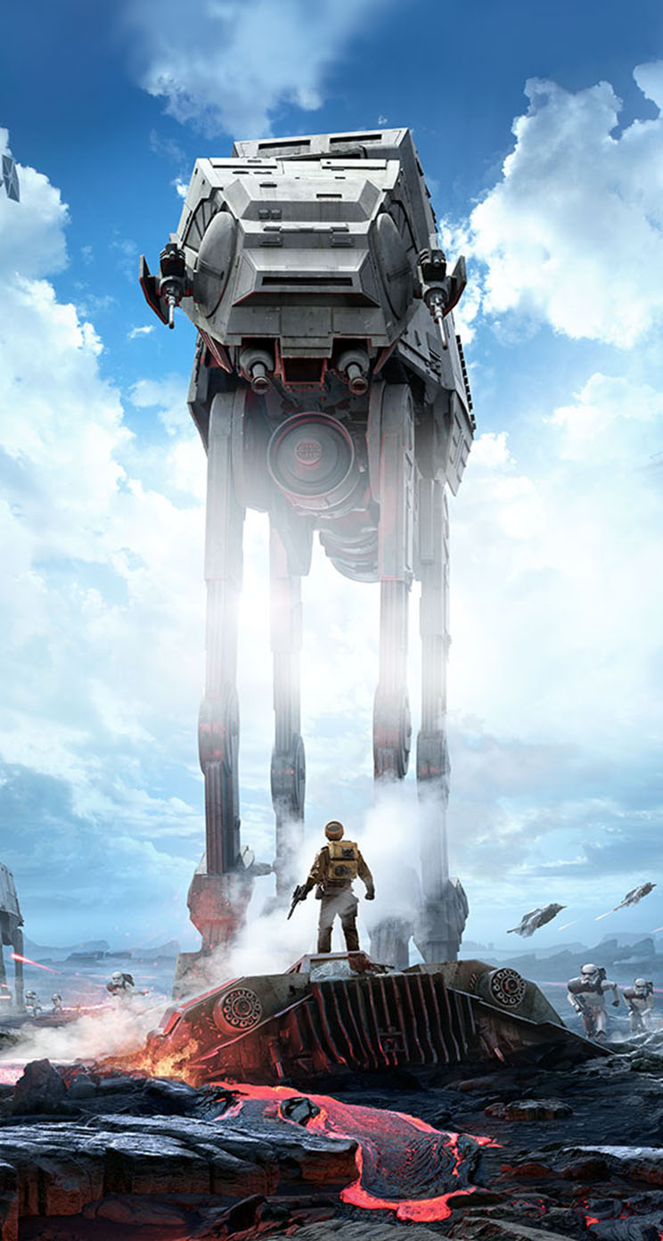 star wars battlefront no logo - the iphone wallpapers