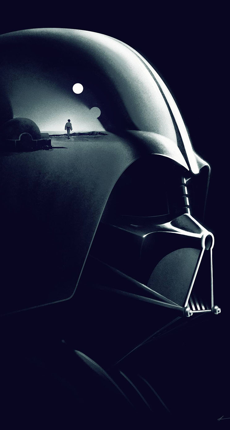 The Iphone Wallpapers Star Wars Darth Vader