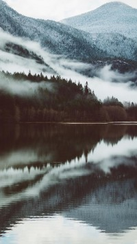 Mountain-Reflection