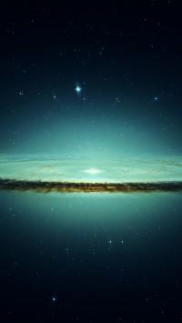 Frozen Galaxy