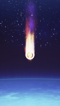 Outer Space Comet