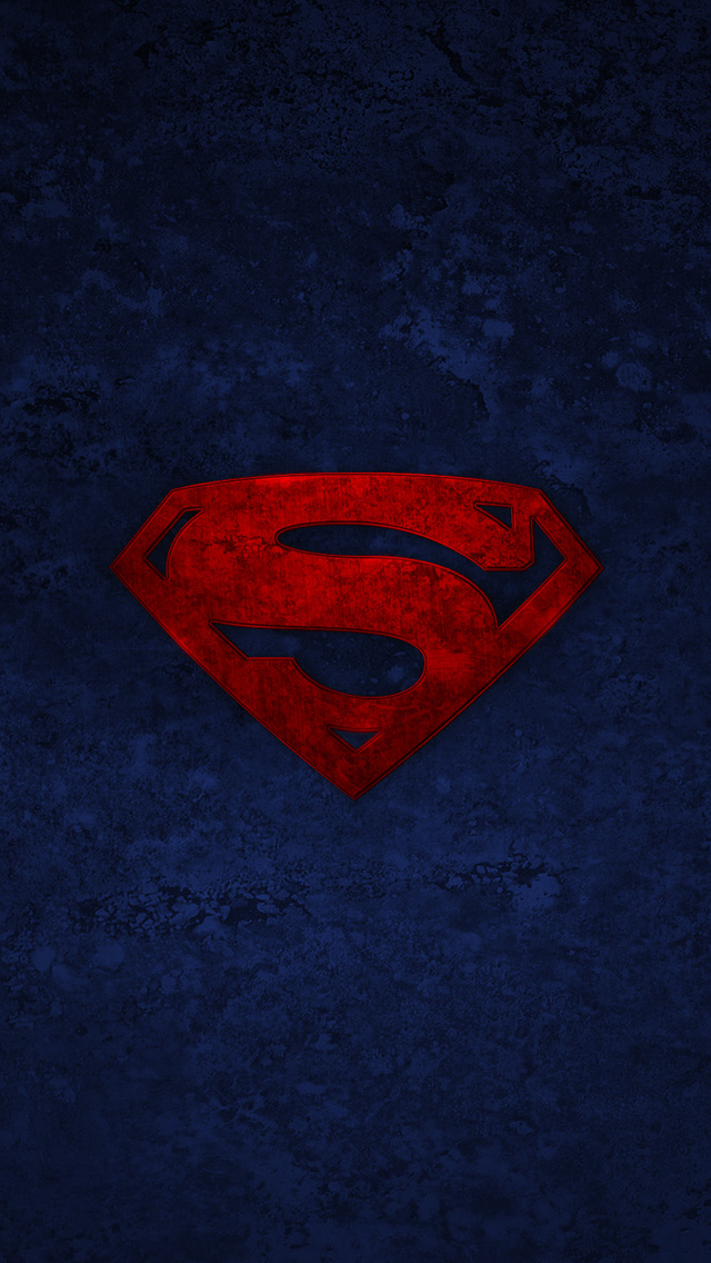 superman iphone wallpaper superman logo the iphone wallpapers 1086