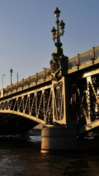 Bridge In Saint Petersburg