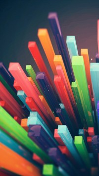 Colorful Sticks
