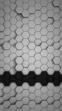 Hexagons 3D