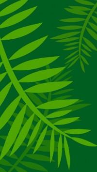 Jungle Leaves Vector Art