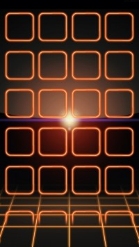 Orange Neon Frames