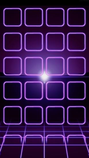 Purple Neon Frames