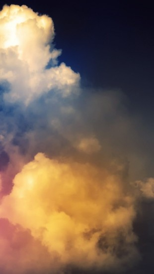 Rainbow Above Clouds