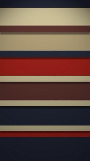 Retro Stripy Shelves