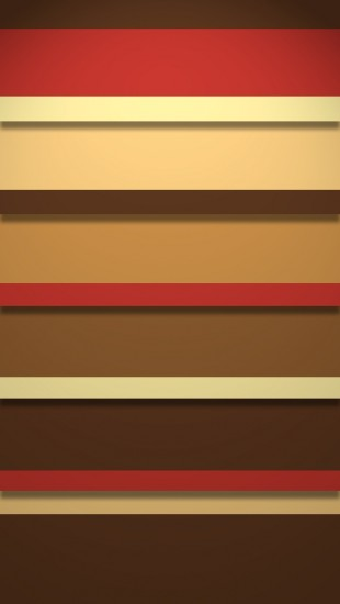 Stripy Retro Shelves