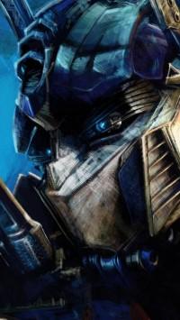 Transformers Optimus Prime Artwork