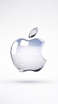 Apple Glass Logo