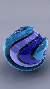 Blue Sphere 3D