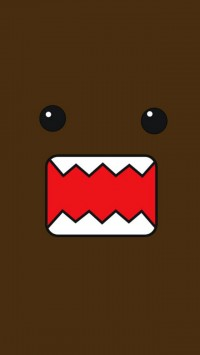 Brown Monster Illustration
